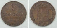 5 Centesimi 1842