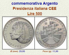 Presidenza Italiana nella Comunità Europea - 1985