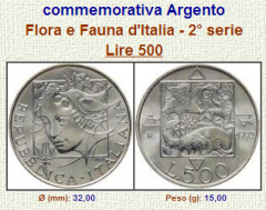 Flora E Fauna D'Italia 2° serie - 1993