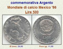 Campionato Mondiale Di Calcio - Messico 1986