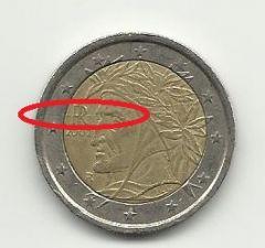 2 euro Italia 2002 2