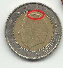 2 euro Belgio 2004
