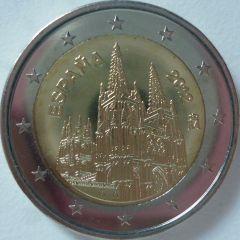 2 euro commemorativo Spagna 2012