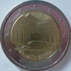 2 euro commemorativo Spagna 2011