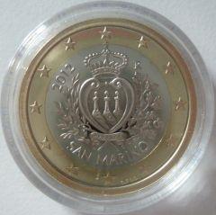 1 euro San Marino 2012 proof