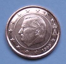 1 cent Belgio1999  FDC
