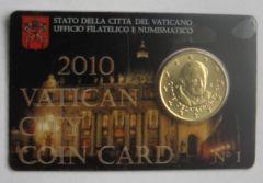 Coincard 50c 2010