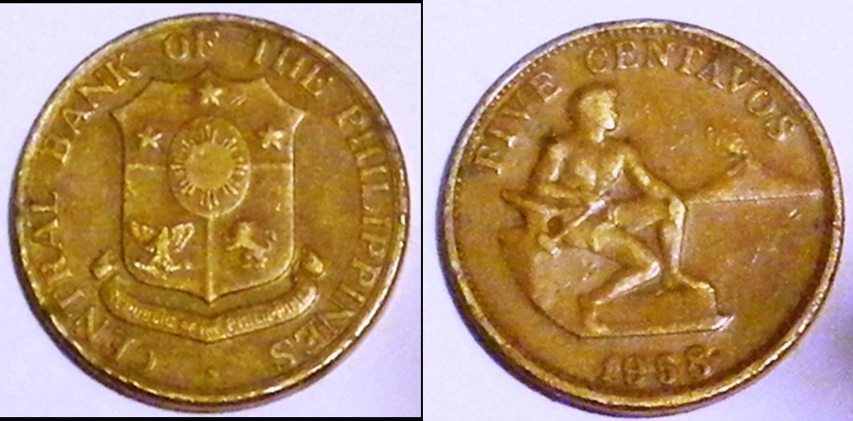 Philippines a km186 1 Centavo