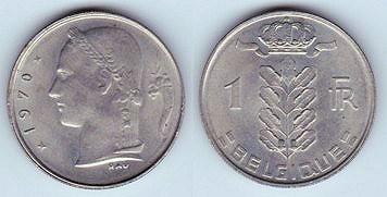 Belgium c km142.1 1 Franc