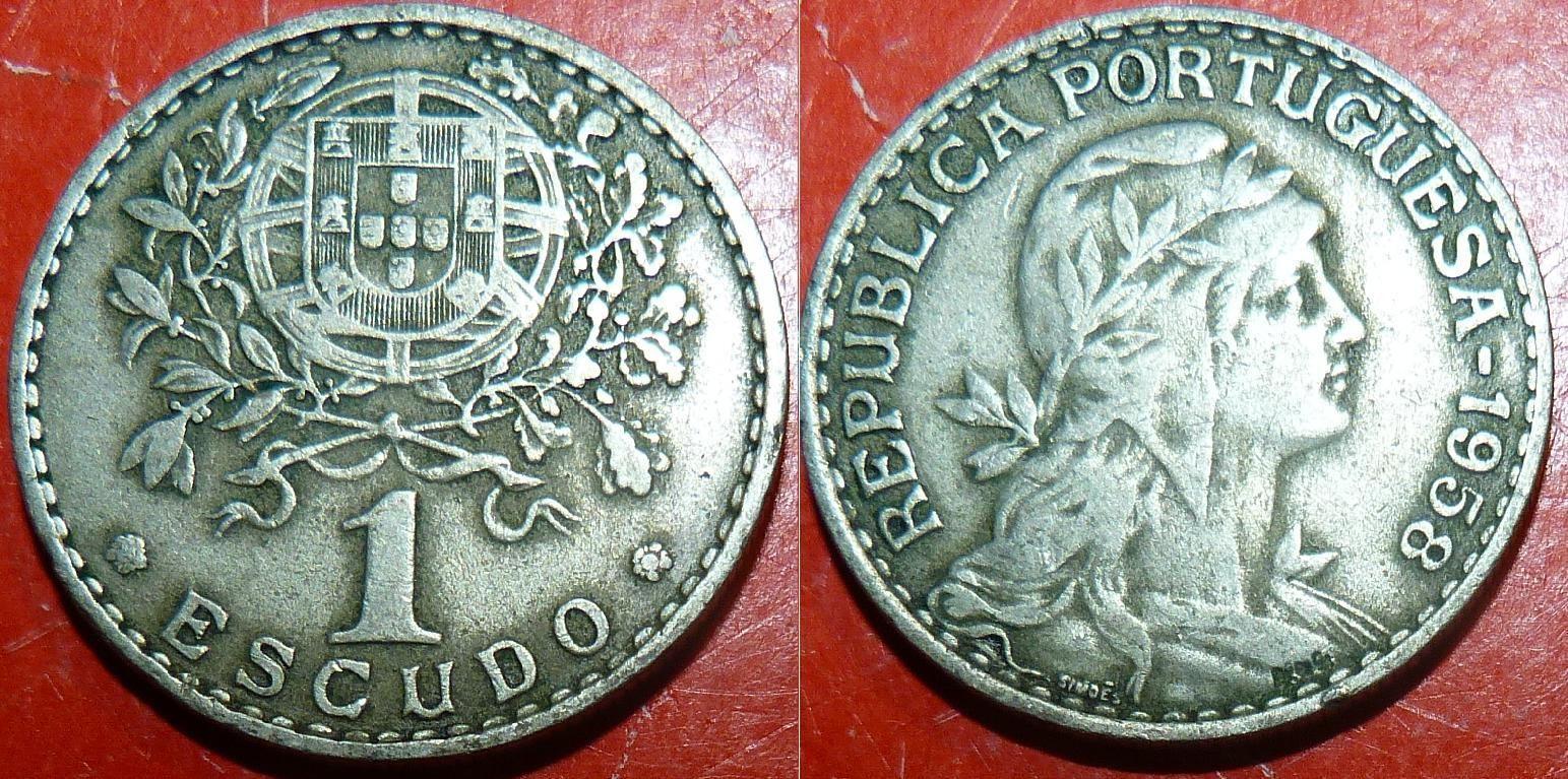 Portugal d km578 1 Escudo