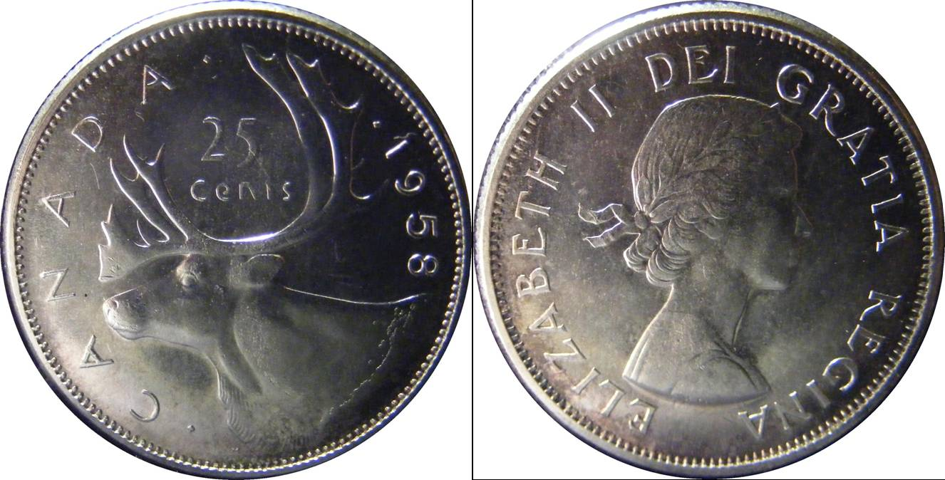 Canada d km52 25 Cents