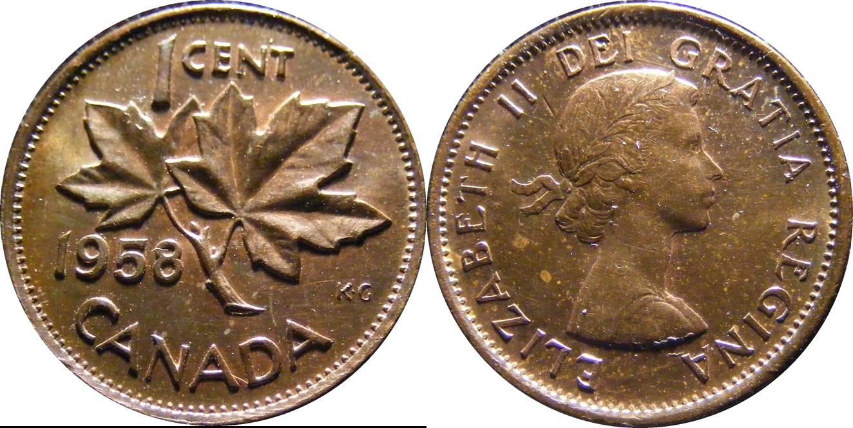 Canada a km49 1 Cent