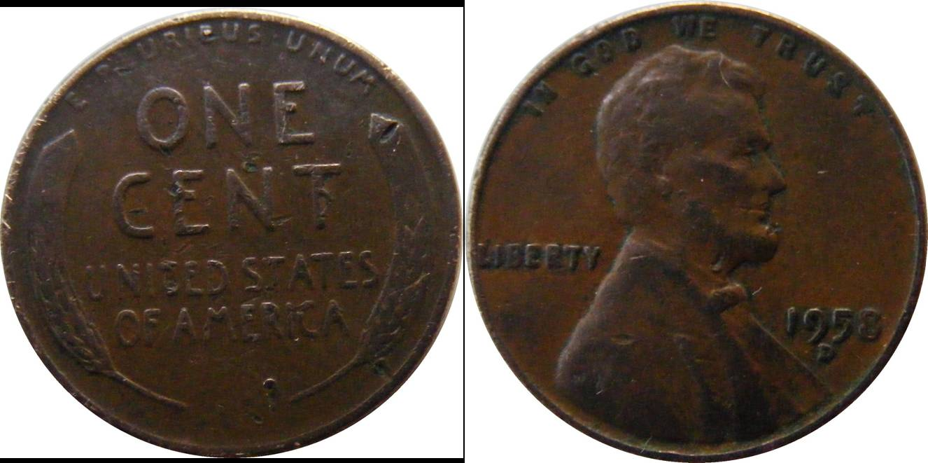 USA a kmA132 1 cent