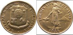 Philippines d km189.1 25 CentavosImmagine1