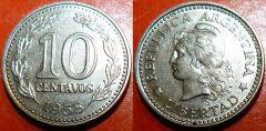 Argentina b km54 10 Centavos