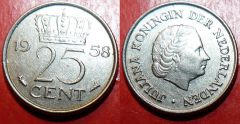 Netherlands d km183 25 Cents