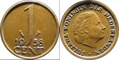Netherlands a km180 1 Cent