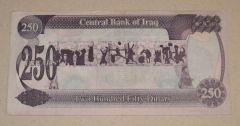 250 Dinari Iraq/ 2