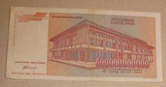 500.000.000.000 Di Dinari Jugoslavi/ 2