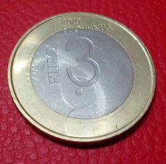 3 euro Slovenia 2012 - Retro