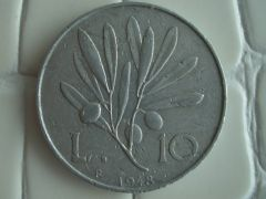 10 Lire 1948 r