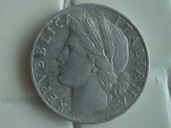1 Lira 1950 d