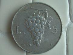 5 Lira 1949 r
