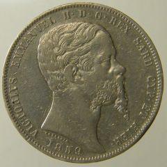Scudo 1859 Vitt. Em. II  To d