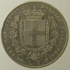 Scudo 1859 Vitt. Em. II To r