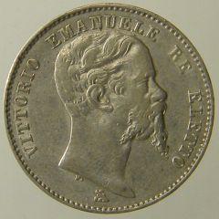 2 Lire Vitt.Em. II 1860 Firenze d