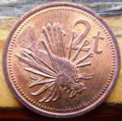 2 Toea Papua Nuova Guinea