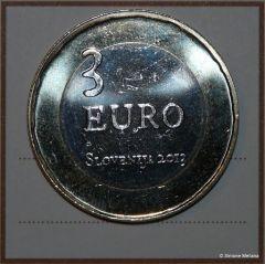 Slovenia 3 Euro 2013 fronte