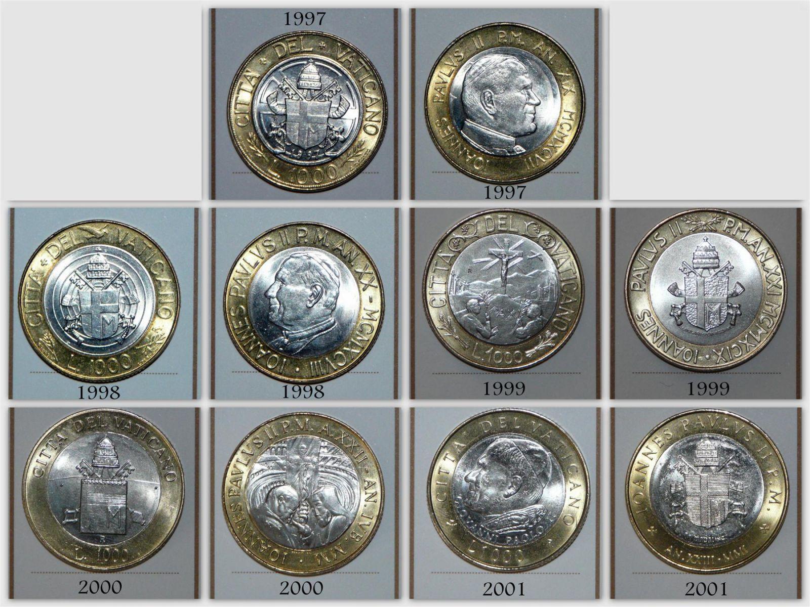 Città Del Vaticano   1000 Lire (Custom)