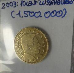 10 cent lussemburgo 2003
