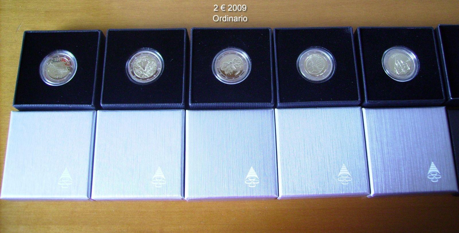 2 euro commemorativi proof Finlandia 2007-2012