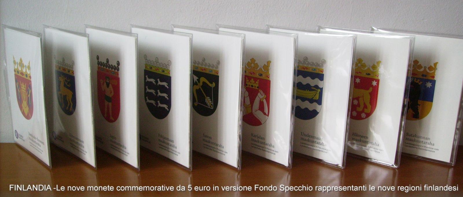 5 euro commemorativi Proof - FINLANDIA