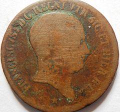 10 Tornesi 1825 Francesco I