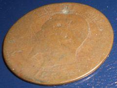 5 centesimi Napoleone III Imperatore