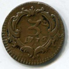 Ferdinando III° 3 Piccioli 1776