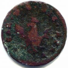 Carlo di Borbone 3 Piccioli 1755