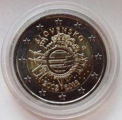 10º anniversario dell'introduzione in circolazione delle banconote e monete in euro