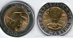 Repubblica di San Marino - 1998 - 'Chimica'