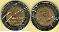 Repubblica di San Marino - 1990 - 'La Repubblica ed il mondo'