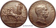 1 Lira Quadriga Briosa 1915