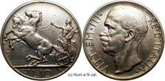 10 Lire Biga 1927