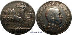1 Lira Quadriga Briosa 1913