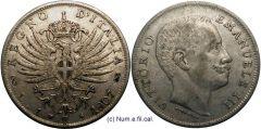 1 Lira Aquila Araldica 1907