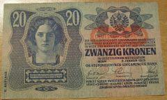 20 corone serie 1912-1915