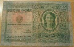 100 corone serie 1912-1915