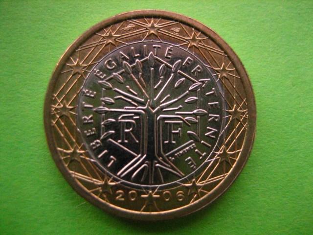 €1 Francia 2006
